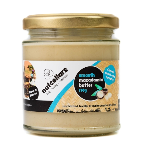 Smooth Macadamia Nut Butter 170g