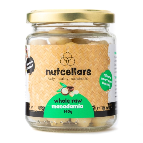 Nutcellars Whole Macadamia Nuts 140g
