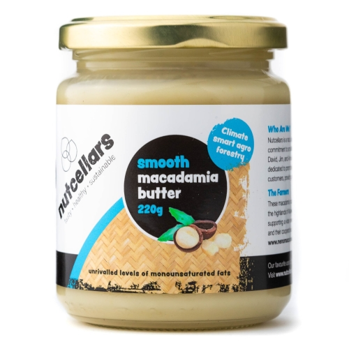 Smooth Macadamia Nut Butter 220g