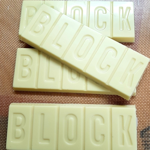 White BLOCK Bar