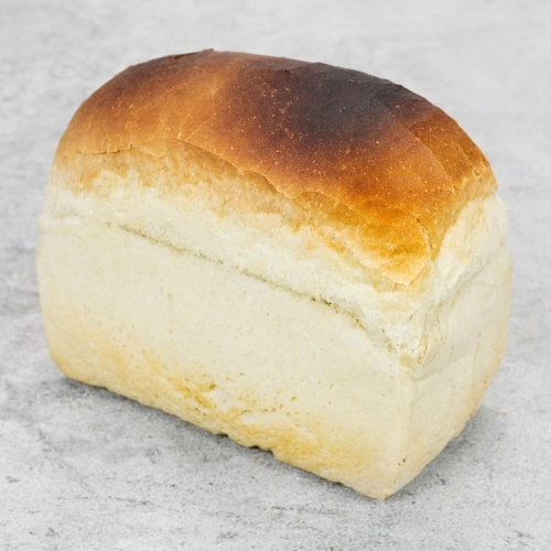 White Tin Large Hambleton Bakery Bread