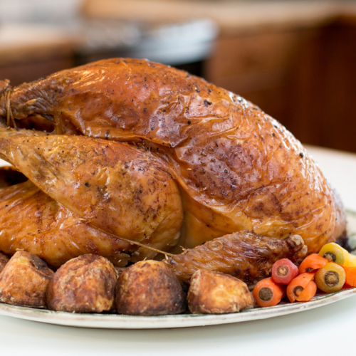 Traditional Bronze or White Turkey 12kg