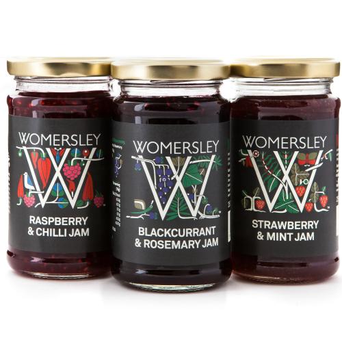 Womersley Luxury Jams Trio