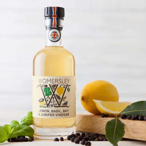 Lemon, Basil, Bay & Juniper Vinegar, 250ml