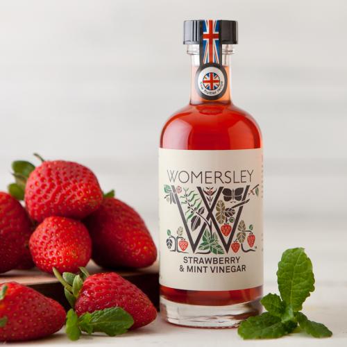 Strawberry & Mint Vinegar, 100ml