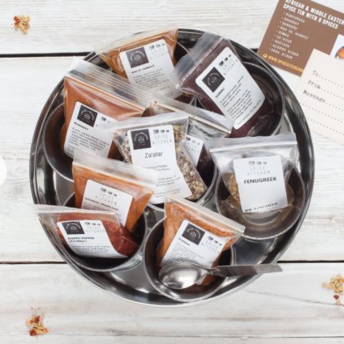 World Spice Blends & BBQ Rubs, Storage Tin