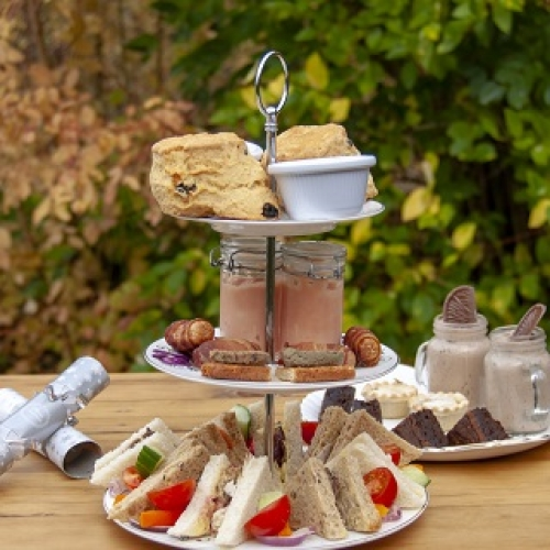 Special Christmas Afternoon Tea and Garden Entry for Two