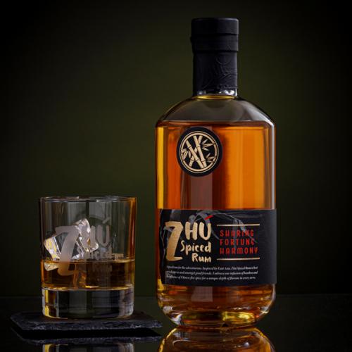 Zhú Spiced Rum 700ml