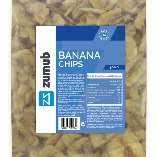Zumub Banana Chips