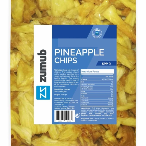 Zumub Pineapple chips