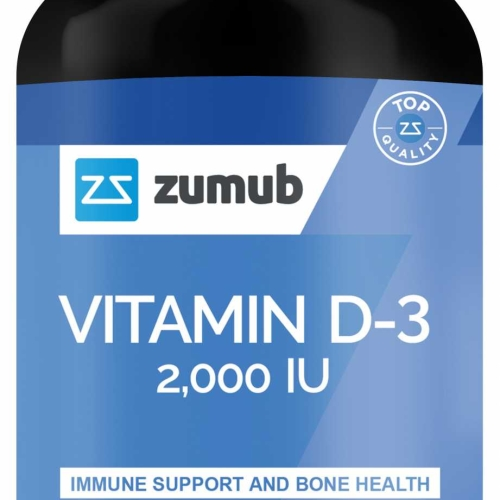 Zumub Vitamin D-3 Softgels