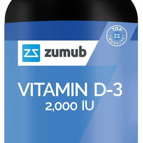 Zumub Vitamin D-3 Tablets